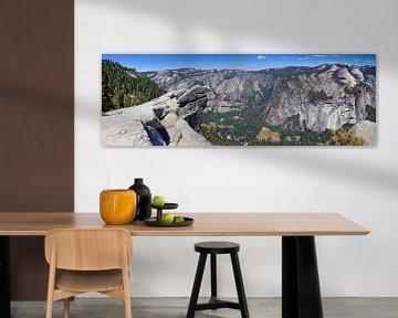 YOSEMITE VALLEY Panoramic V van Melanie Viola