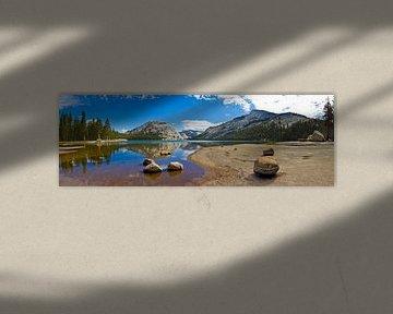 YOSEMITE VALLEY Tenaya Lake Panoramic II van Melanie Viola