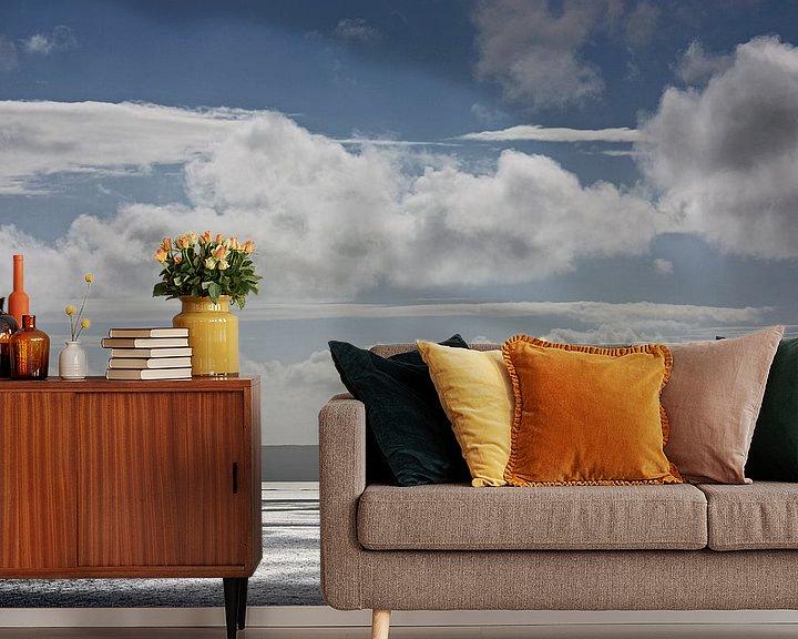 Sfeerimpressie behang: impressions of scotland - Wolkenschatten // Schattenwolken van Meleah Fotografie
