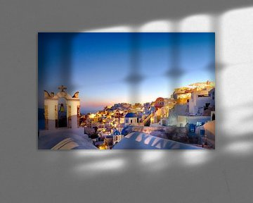 Oia Sunset IV, Santorini van Erwin Blekkenhorst
