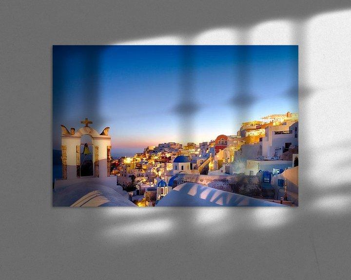 Beispiel: Oia Sunset IV, Santorini von Erwin Blekkenhorst