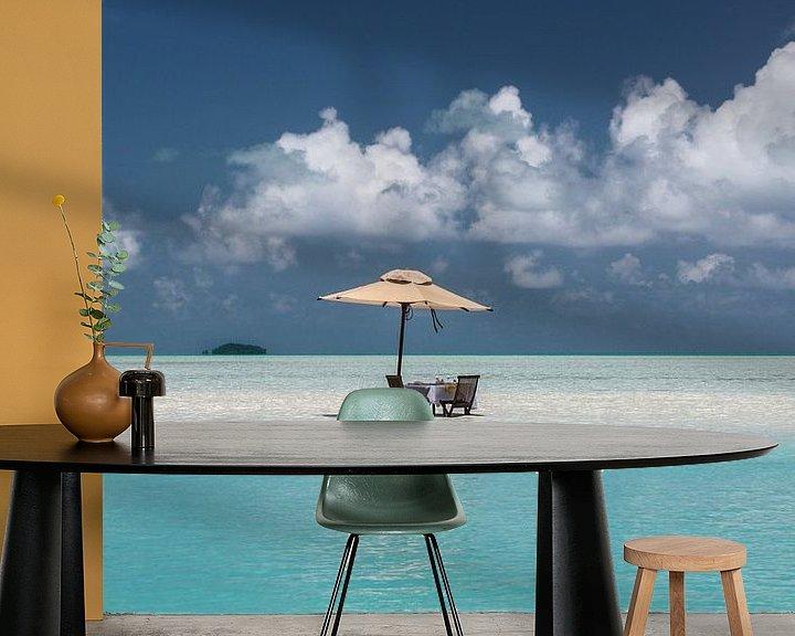 Beispiel fototapete: Turquoise Delight von Erwin Blekkenhorst