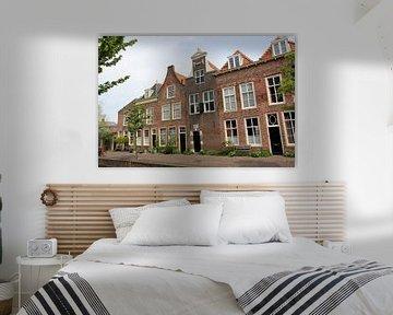 Kanalhäuser, Doelengracht, Leiden von Carel van der Lippe