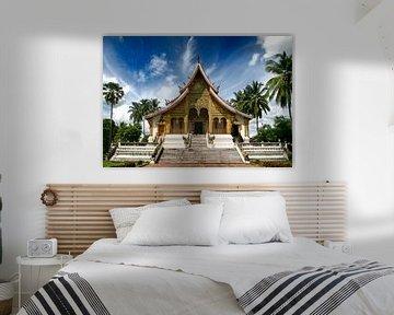 Wat Xieng Thong Tempel in Luang Prabang