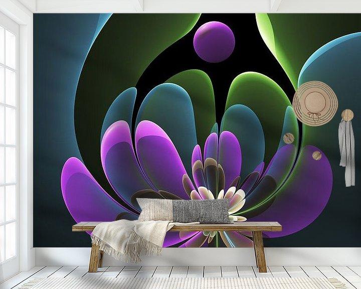 Beispiel fototapete: Florale Grafik von gabiw Art