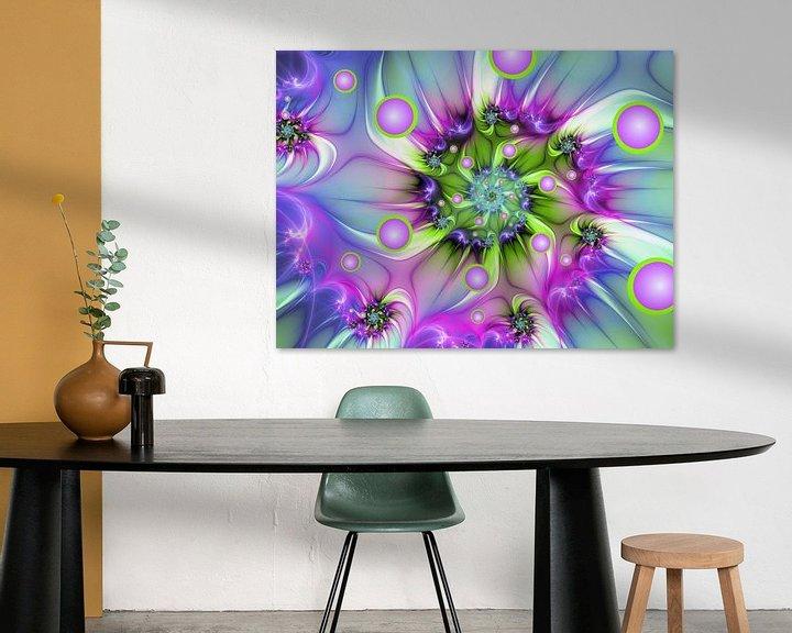 Beispiel: Farbenfrohe Fraktalkunst von gabiw Art