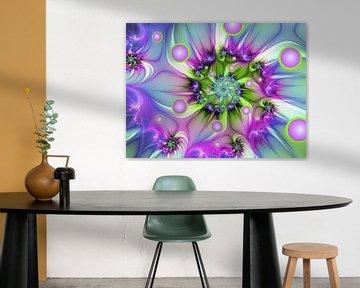Farbenfrohe Fraktalkunst von gabiw Art