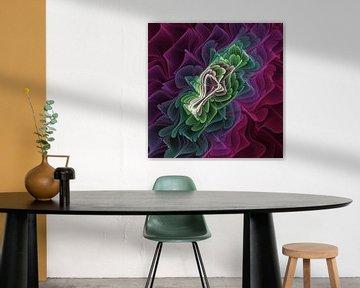 Fraktales Design von gabiw Art