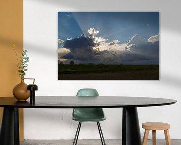 wolken op de dijk van Rolf Pötsch