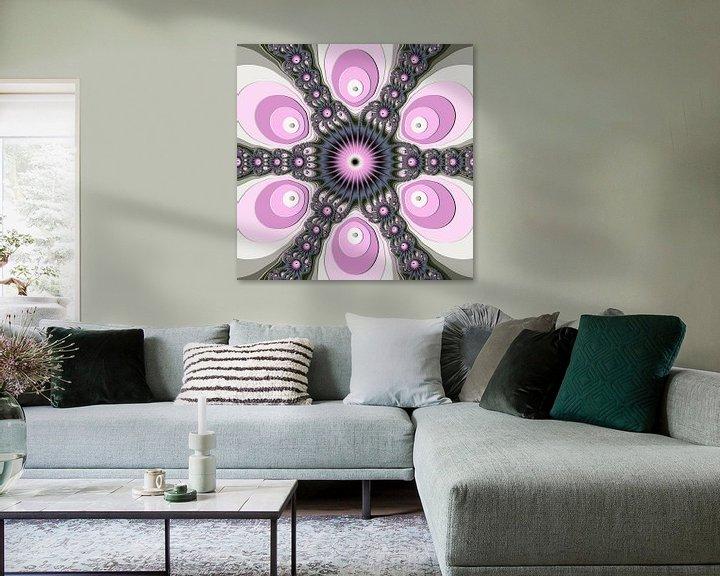 Beispiel: Mandala der Fantasie von gabiw Art