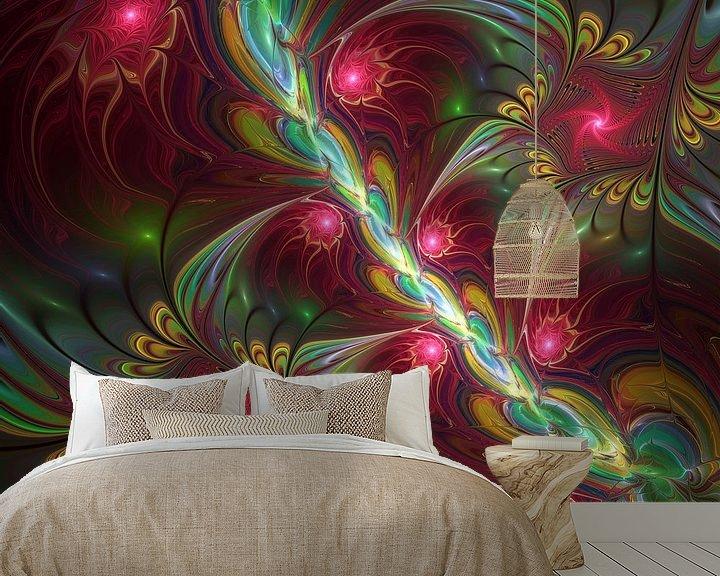 Beispiel fototapete: Bunte Fantasiewelt von gabiw Art