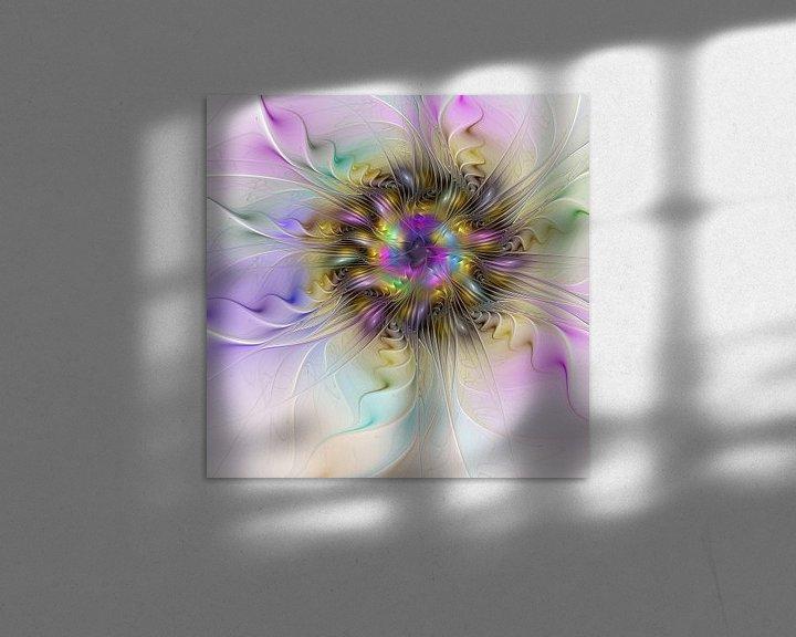Beispiel: Florale Abstraktion von gabiw Art