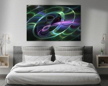 Leuchtend und abstract von gabiw Art