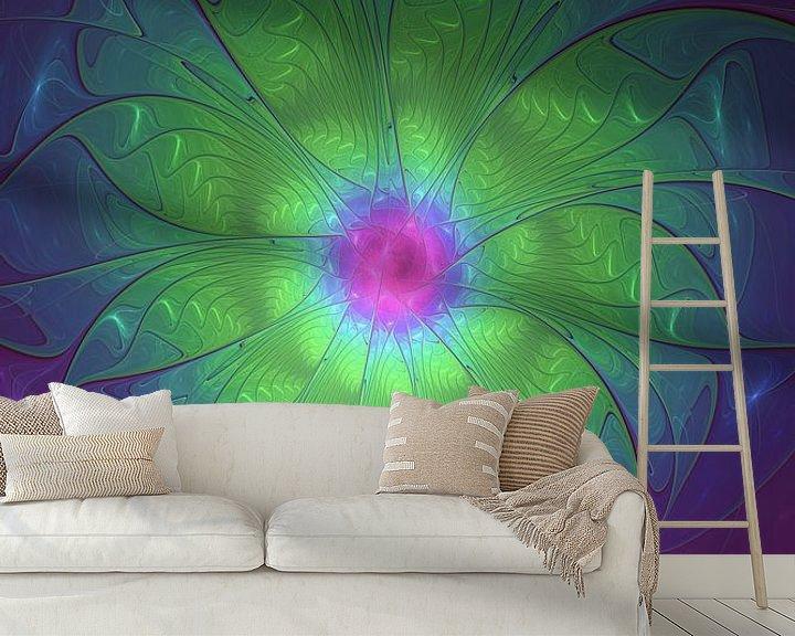 Beispiel fototapete: Fantasieblume von gabiw Art