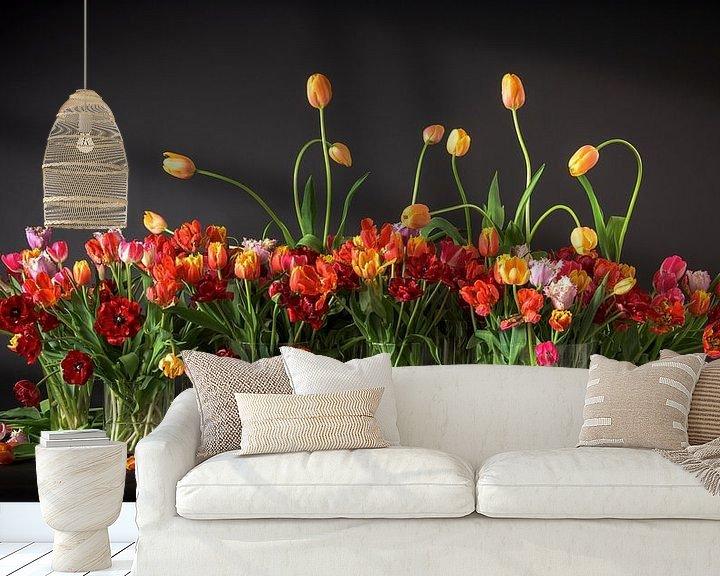 Beispiel fototapete: Tulpen aus Holland von Dirk Verwoerd