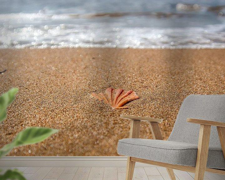 Sfeerimpressie behang: Shell in het zand van Norbert Sülzner