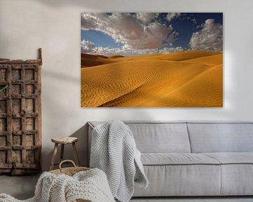 Wahibi Sands in Oman van Yvonne Smits