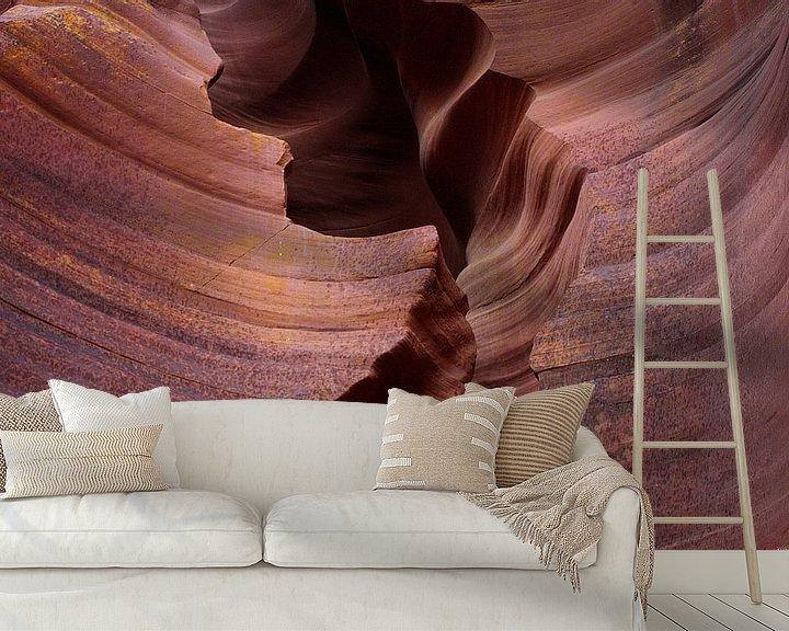 Sfeerimpressie behang: nature´s secrets IX van Meleah Fotografie