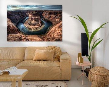 Horseshoe Bend von Arizona von Wim Slootweg