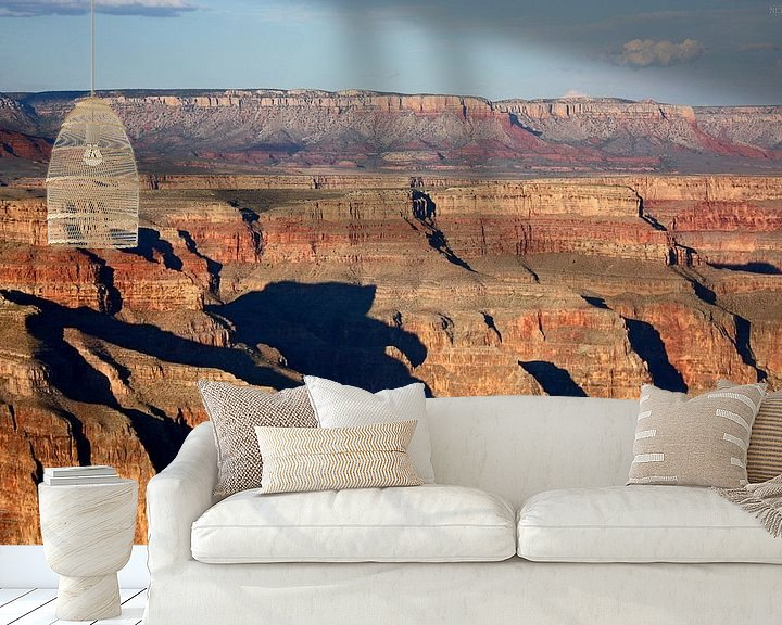 Sfeerimpressie behang: shadow canyon van Meleah Fotografie