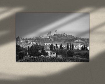 Skyline San Gimignano van Jelmer Reyntjes