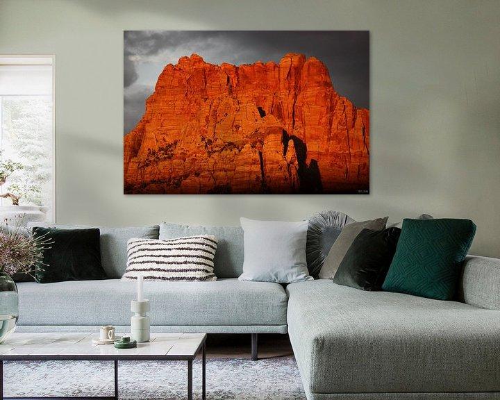 Sfeerimpressie: majestic view II van Meleah Fotografie
