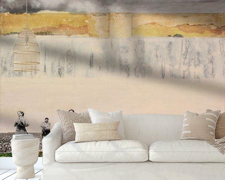 Sfeerimpressie behang: WALLFLOWERS (Gezien bij VTwonen, weer verliefd op je huis ) van db Waterman