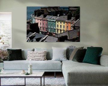 Häuser in Cobh, Irland von Marcel Admiraal