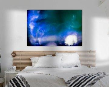 Blauwe en Paarse Hersengolven von Robert Wiggers