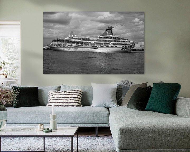 Sfeerimpressie: Cruiseschip Artania in Rotterdam van MS Fotografie   Marc van der Stelt