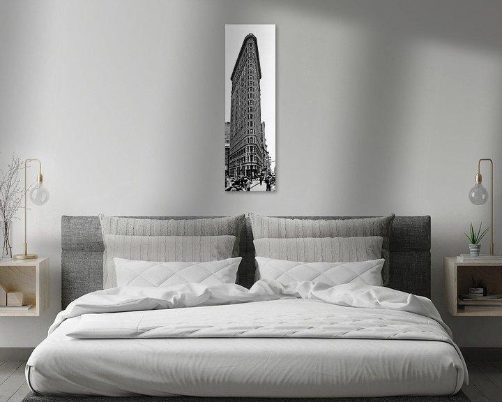Sfeerimpressie: Flat Iron Building New York City van Mark de Boer - Artistiek Fotograaf