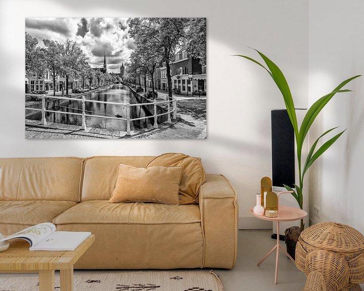 Sfeerimpressie: Noordeinde Delft. van Don Fonzarelli