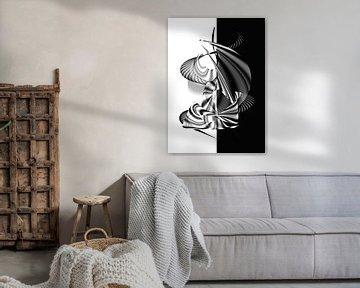 Black and White - Design von Dagmar Marina