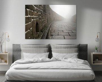 Mist op de chinese muur von Cindy Mulder