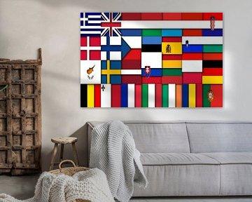 Vlaggen van de Unie 2: relief