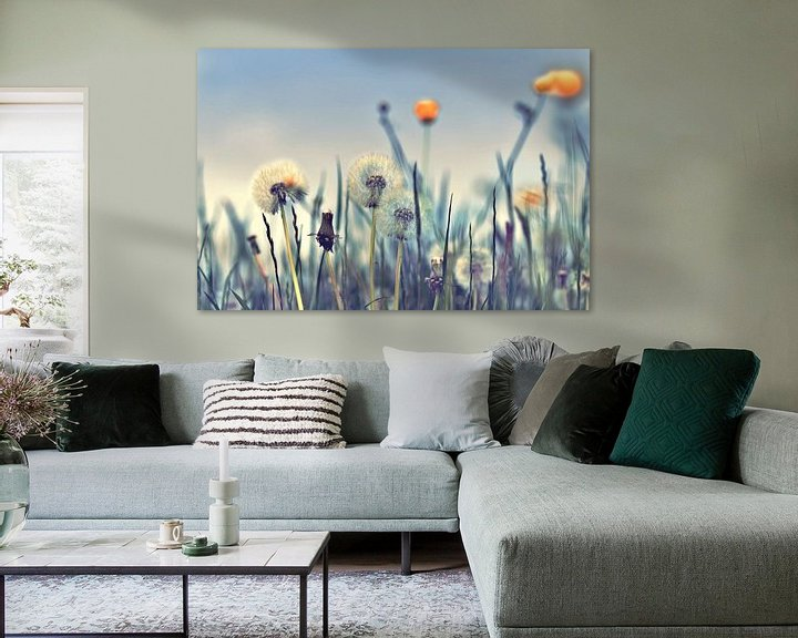Sfeerimpressie: Pusteblumen artdesign van Julia Delgado