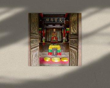 Tempeltje bij Baisha Frescoes van Cindy Mulder