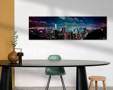 Hong Kong Skyline von W Machiels