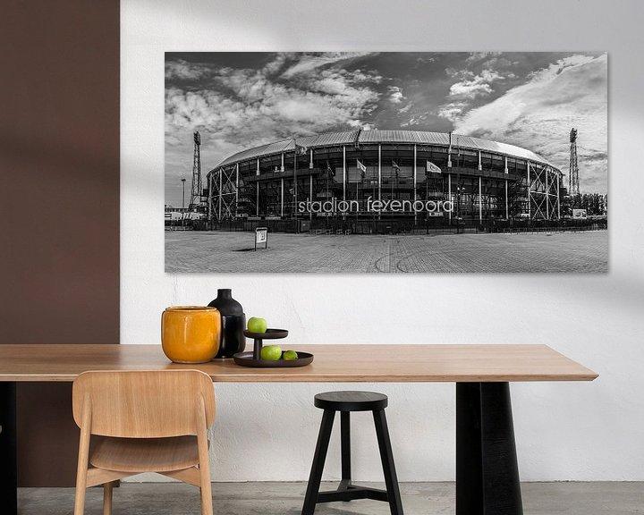 "Sfeerimpressie: Feyenoord Stadion ""De Kuip"" in Rotterdam van MS Fotografie | Marc van der Stelt"