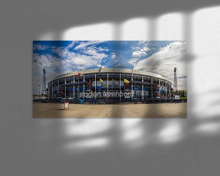 "Sfeerimpressie: Feyenoord Stadion ""De Kuip"" in Rotterdam van MS Fotografie   Marc van der Stelt"
