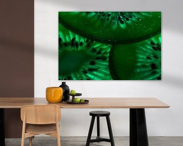 Kiwi in het groen van Kiezel Fotografie