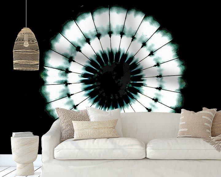 Sfeerimpressie behang: De cirkel van licht van Norbert Sülzner