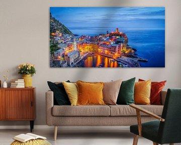 Vernazza at night - Cinque Terre von Teun Ruijters