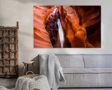 Antelope Canyon sunray, Arizona USA von Chris van Kan