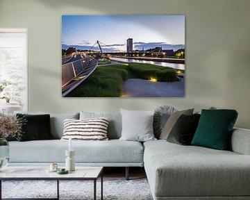 De Leie in Kortrijk van B-Pure Photography