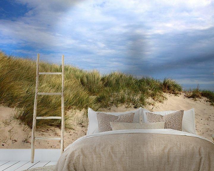 Beispiel fototapete: Dünenlandschaft von Ostsee Bilder