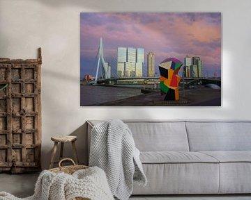 Marathonbeeld Rotterdam von Michel van Kooten