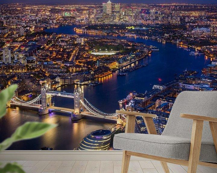 Sfeerimpressie behang: Het prachtige Londen van Thomas van Galen