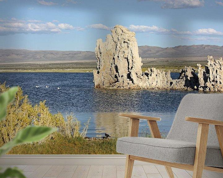 Sfeerimpressie behang: mono lake - II van Meleah Fotografie