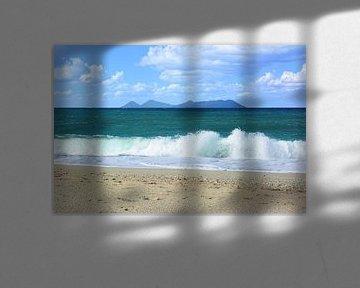 Aussicht am  Meer von Gisela Scheffbuch